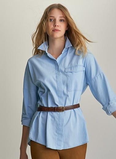 Ng Style Jean Gömlek Mavi